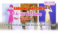 Hát Karaoke  chèo Áo dài quê hương